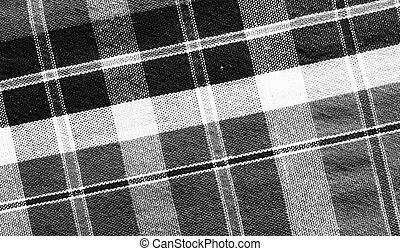 black&white loincloth fabric background