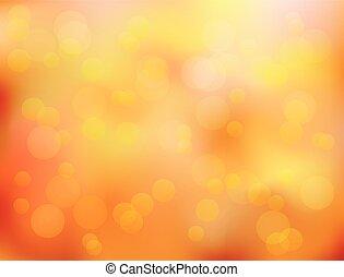 blad, herfst, abstract, achtergrond