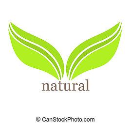 blad, symbool