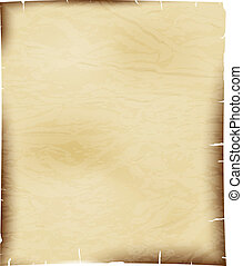 blad, witte , papier, oud, achtergrond