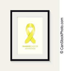bladder cancer awareness frame