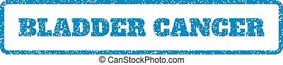 Bladder Cancer Rubber Stamp