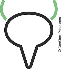 Bladder, urinary, kidney icon vector image. Can also be used for human anatomy. Suitable for mobile apps, web apps and print media.