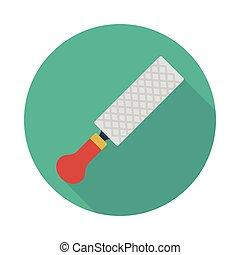 blade flat icon