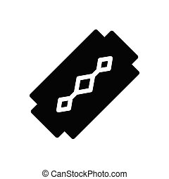 blade  glyph flat icon