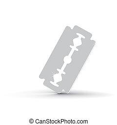 blade on white background