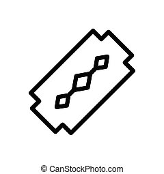 blade  thin line icon