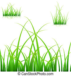 Blades of Grass - An image of a set of blades of grass on...
