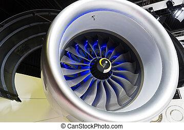 Blades of turbojet engine for aircraft