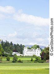 blair, ecosse, perthshire, château