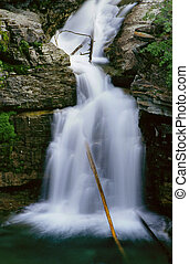 Blakiston Falls in Waterton N.P.