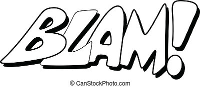 Blam - Comic Expression