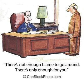 Blame game performance review
