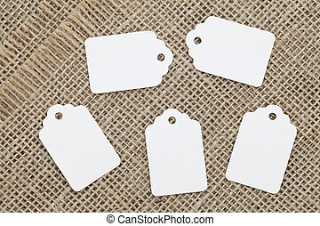 blanc, étiquette