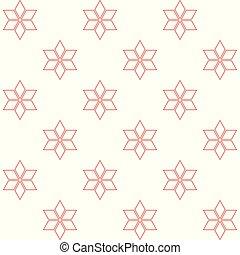 blanc, étoiles, fond, rouges