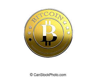 blanc, bitcoin