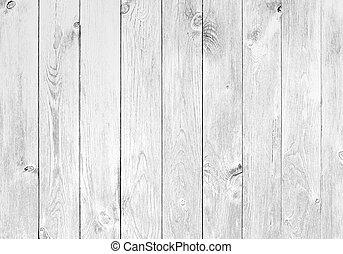 blanc, bois, vieux, planches, fond