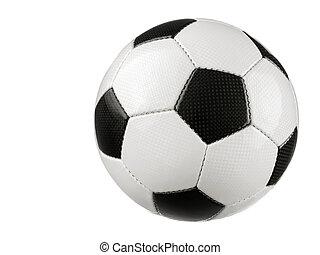 blanc, boule football