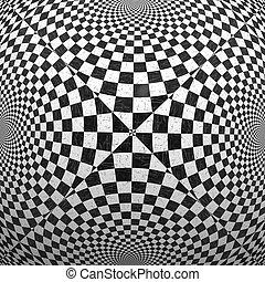 blanc, checkered, noir, texture