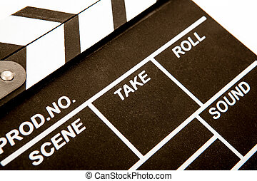 blanc, closeup, inscriptions, film, noir, battant