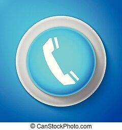 bleu cole signe t l phone panneau craie blanc ic ne retro bleu cole isolated. Black Bedroom Furniture Sets. Home Design Ideas