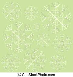 blanc, conception, plante, pissenlit