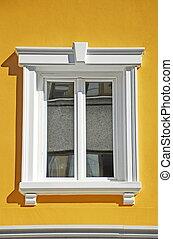 blanc, fenêtre