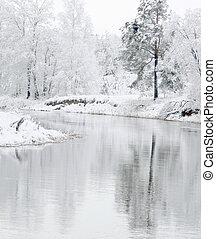blanc, hiver