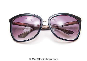 blanc, isolé, fond, sunglasses.