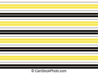 blanc, jaune, noir, Raies, fond