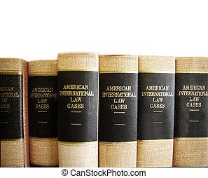 blanc, livres, rang, droit & loi