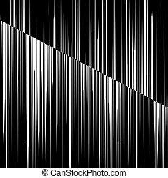 blanc, noir, Raies,  vertical
