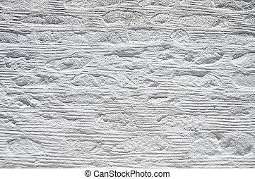 blanc, plâtré, mur