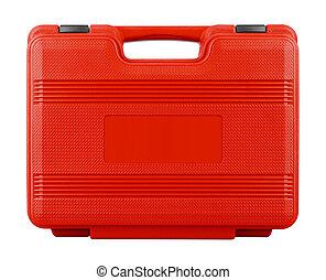 blanc rouge, valise