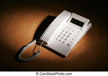 blanc, téléphone
