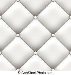 blanc, tapisserie ameublement