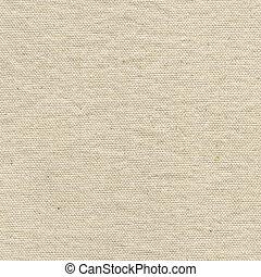 blanc, toile, texture, coton