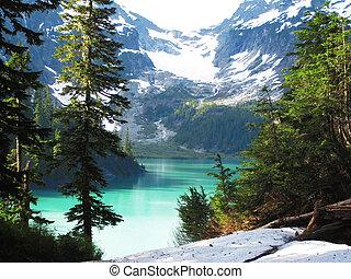 blanca, jezioro, waszyngton państwowy