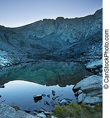 Blanca Peak Reflected In Mountain Lake