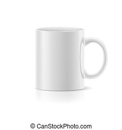 blanche grande tasse