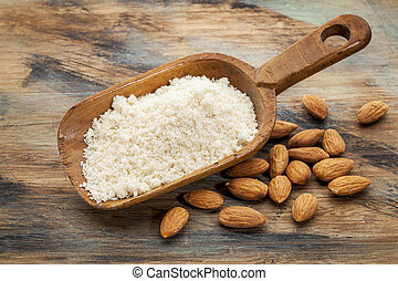 blanched almond flour - almond flour high in protein, low in...