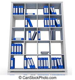 blanco, armario, plano de fondo, aislado, oficina