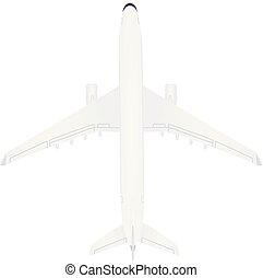 blanco, avión