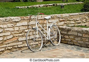 blanco, bicicleta