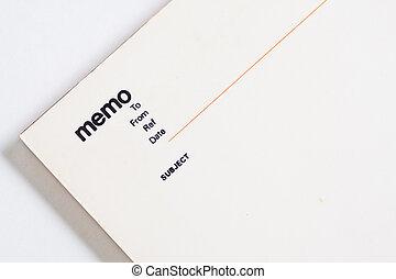 blanco, bloc de notas, cuaderno