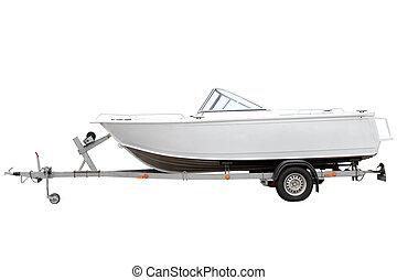 blanco, boat., motor