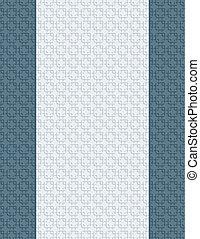 blanco, carta, página, con, 3d, textura