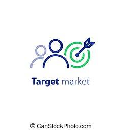 blanco, concepto, mercadotecnia, audiencia, relaciones,...