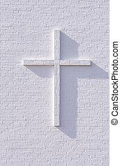 blanco, cruz