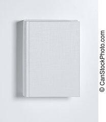 blanco, cubierta de libro, blanco